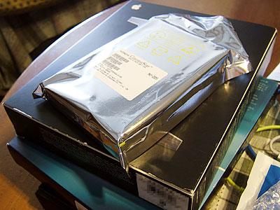 日立のハードディスク 500ギガ